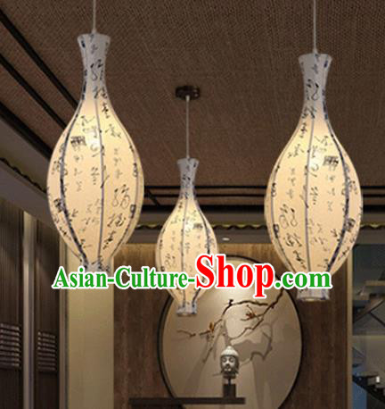 Traditional China Handmade Parchment Lantern Ancient New Year Hanging Lanterns Palace Ceiling Lamp