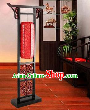 Asian China Floor Lanterns Traditional Chinese Ancient Lamp Red Palace Lantern