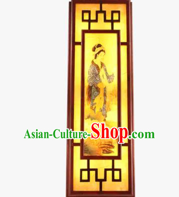 Asian China Handmade Wall Lanterns Traditional Chinese Ancient Lamp Beauty Palace Lantern