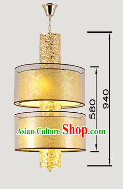 China Handmade Lantern Traditional Wedding Two-Lights Hanging Lanterns Palace Ceiling Lamp