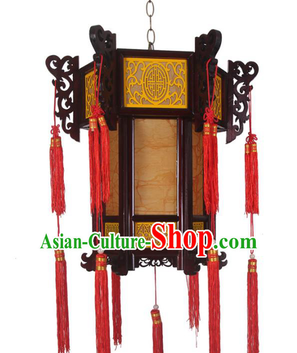 Chinese Handmade New Year Hanging Lantern Traditional Palace Parchment Ceiling Lamp Ancient Lanterns