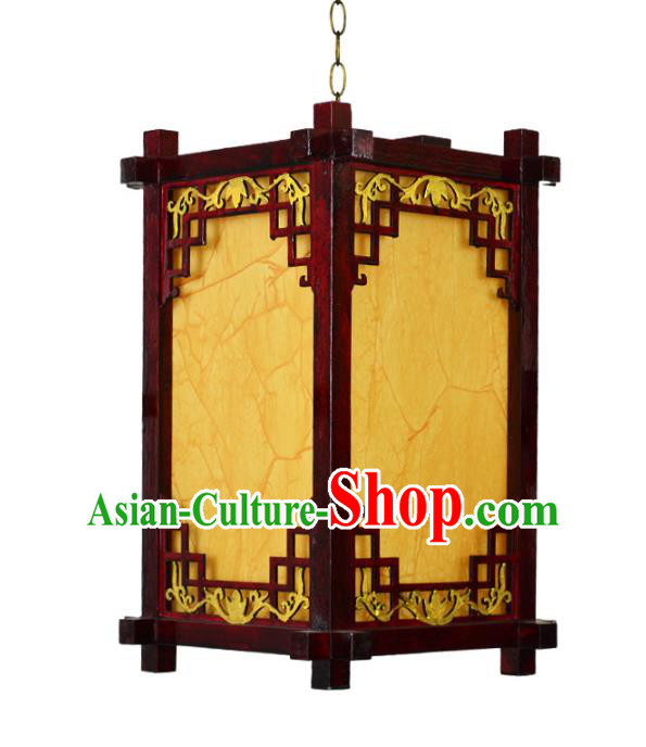 Chinese Handmade Portable Hanging Lantern Traditional Palace Ceiling Lamp Ancient Lanterns