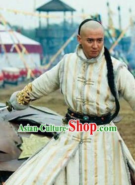 Chinese Qing Dynasty General Historical Costume China Ancient Manchu Dorgon Clothing