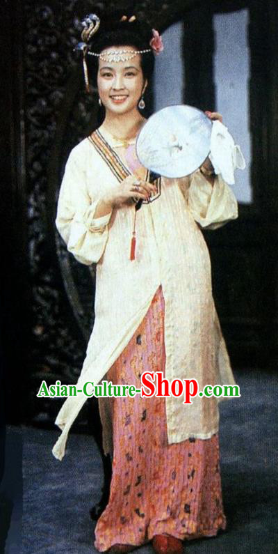 Chinese Ancient Qing Dynasty Dowager Wang Xifeng Dress Replica Costumes for Women