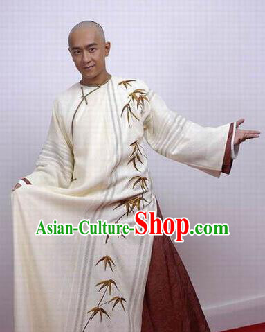 Chinese Ancient Qing Dynasty Nobility Childe Poet Nalan Rongruo Costume for Men