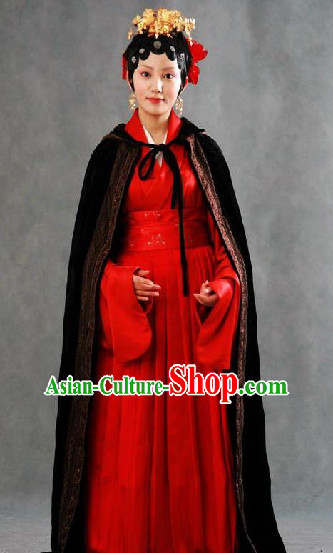 Chinese Ancient A Dream in Red Mansions Character Nobility Second Sister You Costume for Women