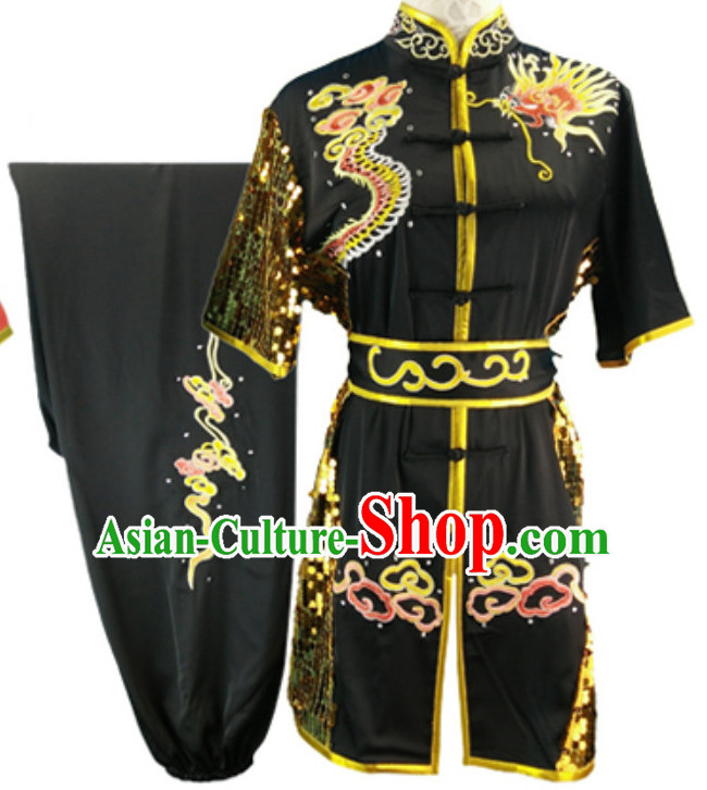 Black Top Changquan Nanquan Long Fist Southern Fist Best and the Most Professional Kung Fu Martial Arts Clothing Suits