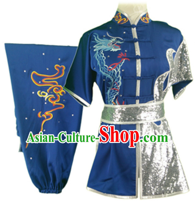 Top Changquan Nanquan Long Fist Southern Fist P Short Sleeves Best and the Most Professional Kung Fu Competition Uniforms Suits