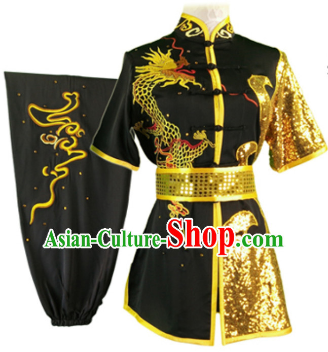 Top Changquan Nanquan Long Fist Southern Fist P Short Sleeves Best and the Most Professional Kung Fu Competition Dresses Contest Suits