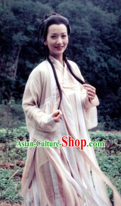 Chinese Ancient Ming Dynasty Princess Changping Embroidered Dress Costume for Women