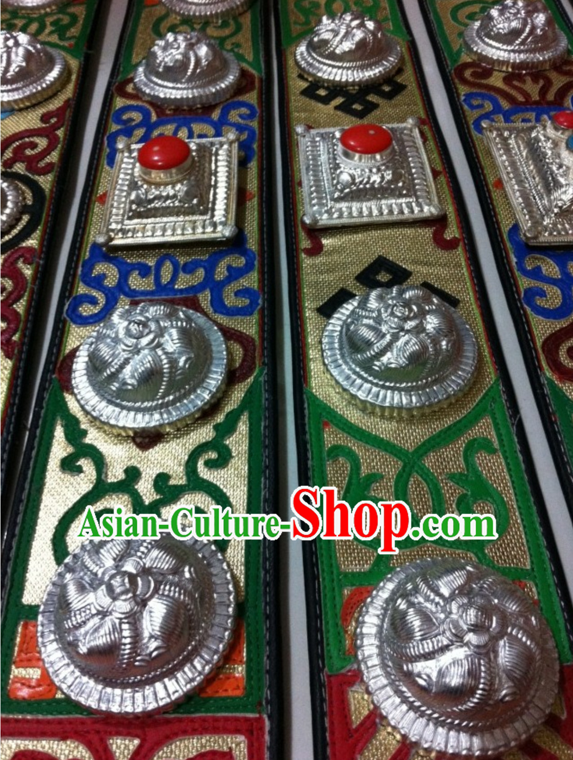 Traditional Tibetan Handmade Long Belt for Women