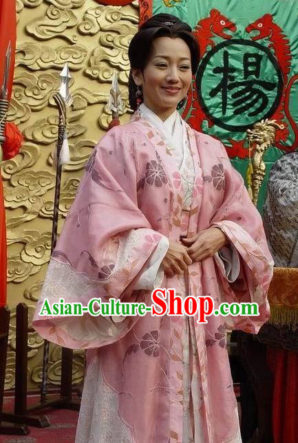 Chinese Ancient Song Dynasty Female General She Saihua Embroidered Dress Replica Costume for Women