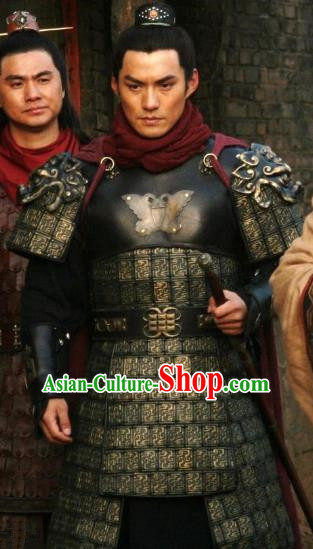 Chinese Ancient Novel Water Margin Character Yan Qing Costume Song Dynasty Mount Liang Hero Replica Costume