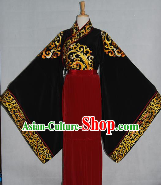 China Traditional Beijing Opera Prince Costume Chinese Peking Opera Niche Embroidered Clothing for Adults