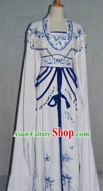 Traditional China Beijing Opera Diva Embroidered Dress Chinese Peking Opera Actress Costume