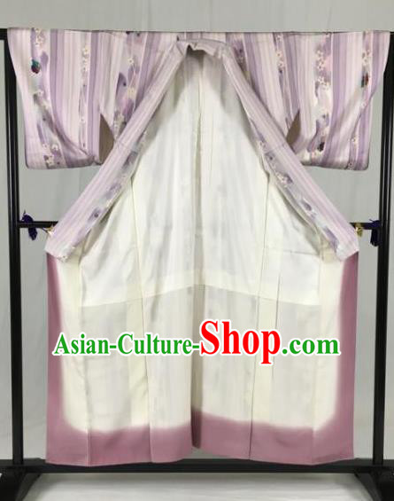Japan Traditional Geisha Kimono Formal Costume Furisode Kimonos Ancient Yukata Dress for Women