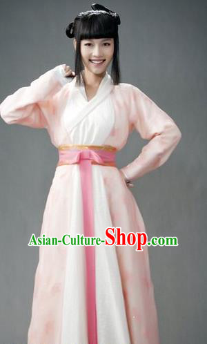 Chinese Traditional Tang Dynasty Swordswoman Replica Costume for Women