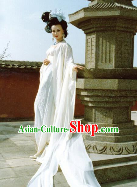 Chinese Ancient Tang Dynasty Palace Lady Imperial Consort Yang Replica Costume for Women