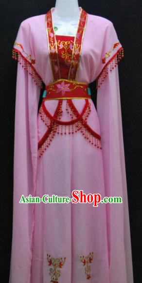 Traditional China Beijing Opera Actress Pink Dress Chinese Peking Opera Diva Costume