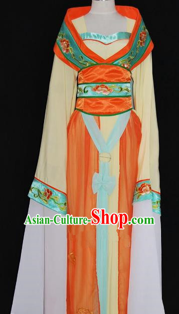 Traditional Chinese Beijing Opera Imperial Consort Dress Peking Opera Diva Embroidered Costume
