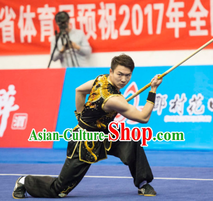 Top Male Southern Fist Dresses Nanquan Uniform Kung Fu Suit Kung Fu Uniform Chinese Jacket Taiji Clothes Dress Dresses Kung Fu Clothing Embroidered Tai Chi Suits Custom Kung Fu Embroidery Uniforms