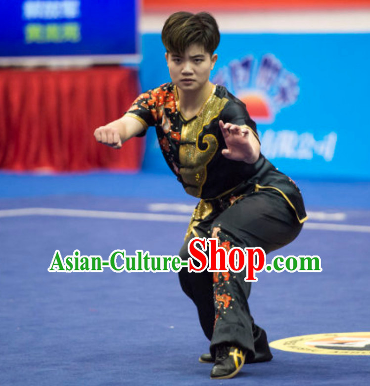 Supreme Custommade Southern Fist Competition Uniforms Kung Fu Suit Kung Fu Uniform Chinese Jacket Taiji Clothes Dress Dresses Kung Fu Clothing Embroidered Tai Chi Suits Custom Kung Fu Embroidery Uniforms