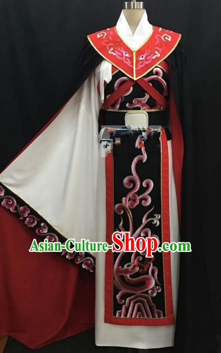 Top Grade Chinese Beijing Opera Young Men Costume Peking Opera Niche Costume for Adults