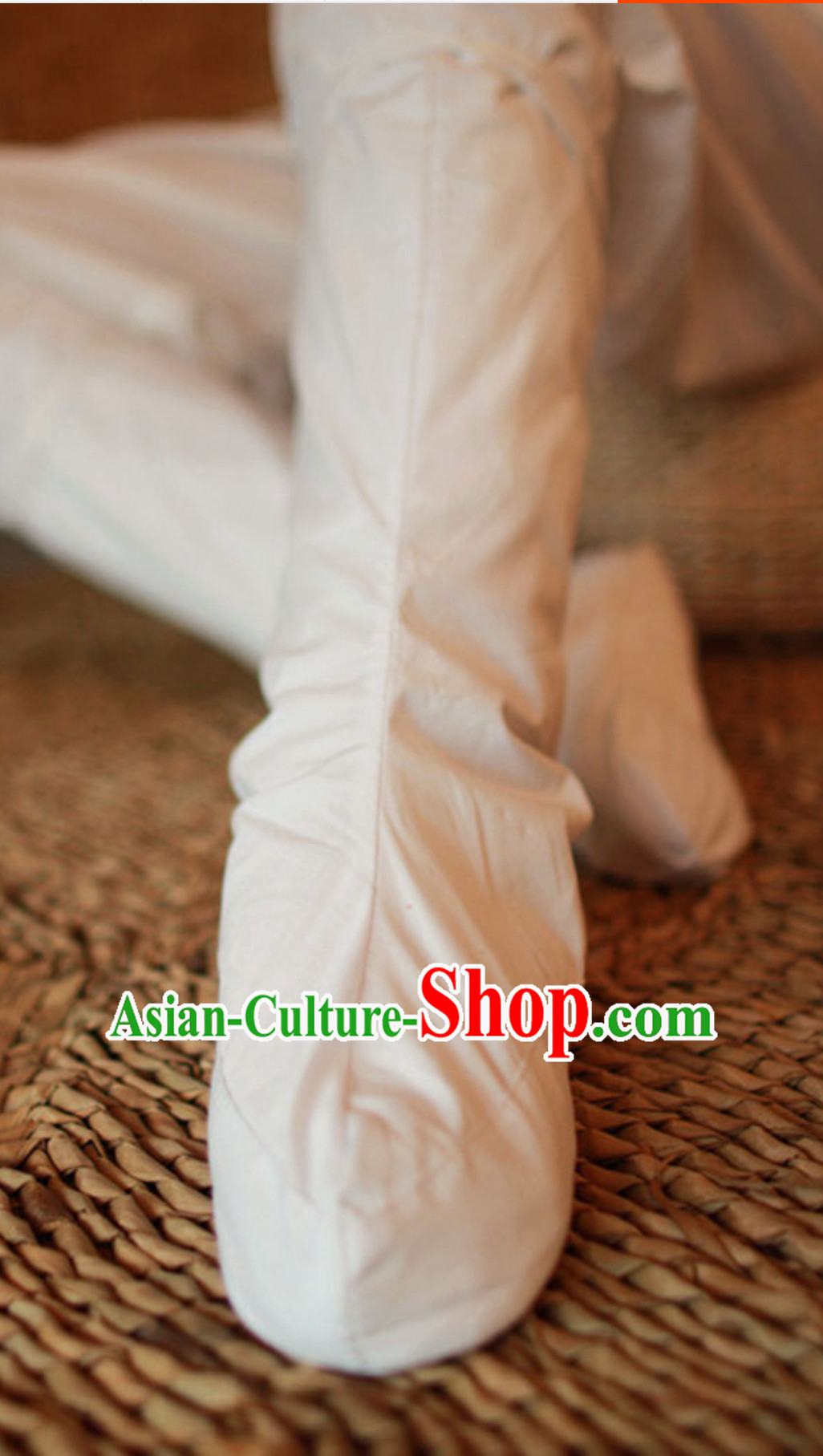 Ancient Chinese Handmade Hanfu Socks