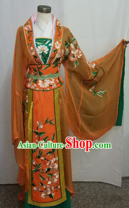 Top Grade Chinese Beijing Opera Diva Dress China Peking Opera Princess Embroidered Costume