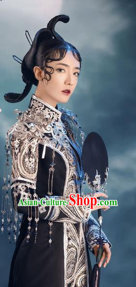 Chinese Ancient Shoulder Accessories Tassel Shoulder Decoration for Women