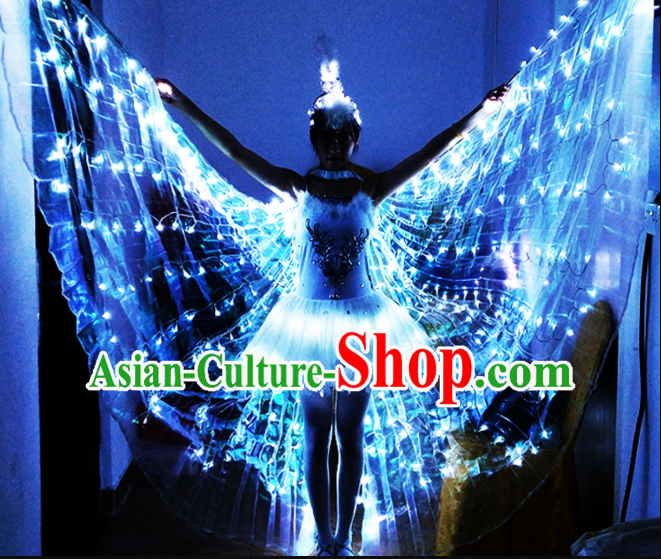LED Stage Performance Dancing Dance Props and Costumes Complete Set