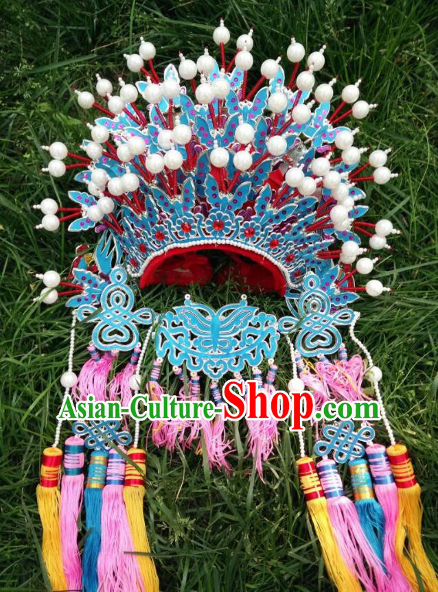 Traditional Chinese Beijing Opera Bride Phoenix Coronet Peking Opera Actress Headwear