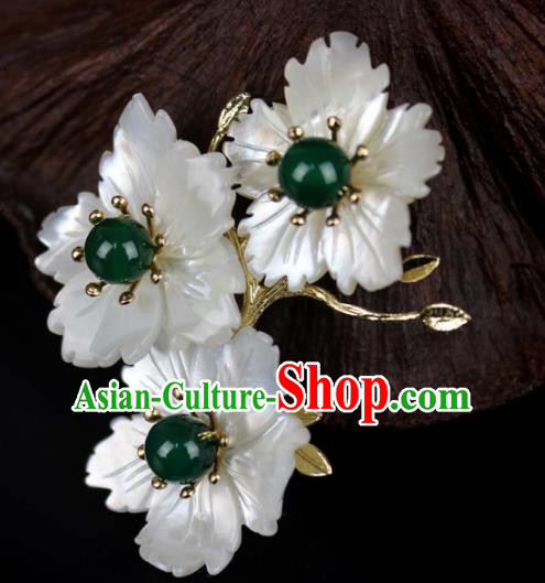 Chinese Ancient Handmade Hair Accessories Flowers Hair Claw Hairpins for Women