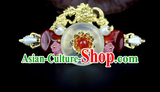 Chinese Ancient Handmade Hair Accessories Classical Hairpins Hair Claw for Women