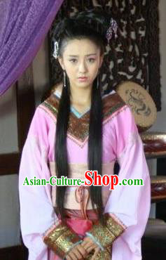 Ancient Traditional Chinese Han Dynasty Imperial Consort Zhao Feiyan Hanfu Replica Costume for Women