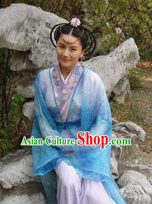 Chinese Ancient Tang Dynasty Princess Palace Lady Hanfu Dress Replica Costume for Women