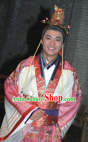 Chinese Ancient Tang Dynasty Emperor Li Shimin Replica Costume for Men