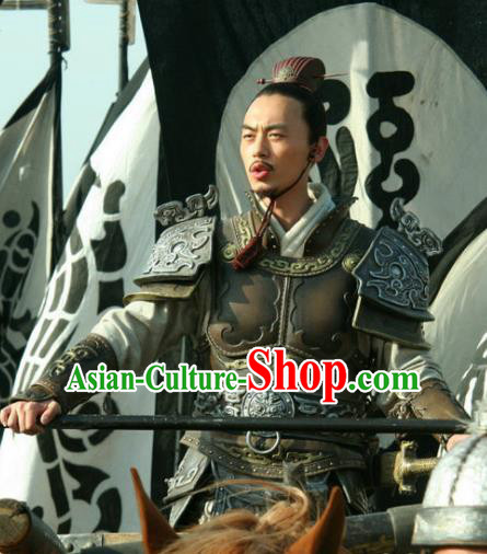 Ancient Chinese Spring and Autumn Period Militarist Strategist Sun Wu Replica Costumes for Men