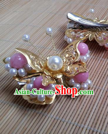Traditional Chinese Ancient Hair Accessories Hairpins Butterfly Hair Claw for Women