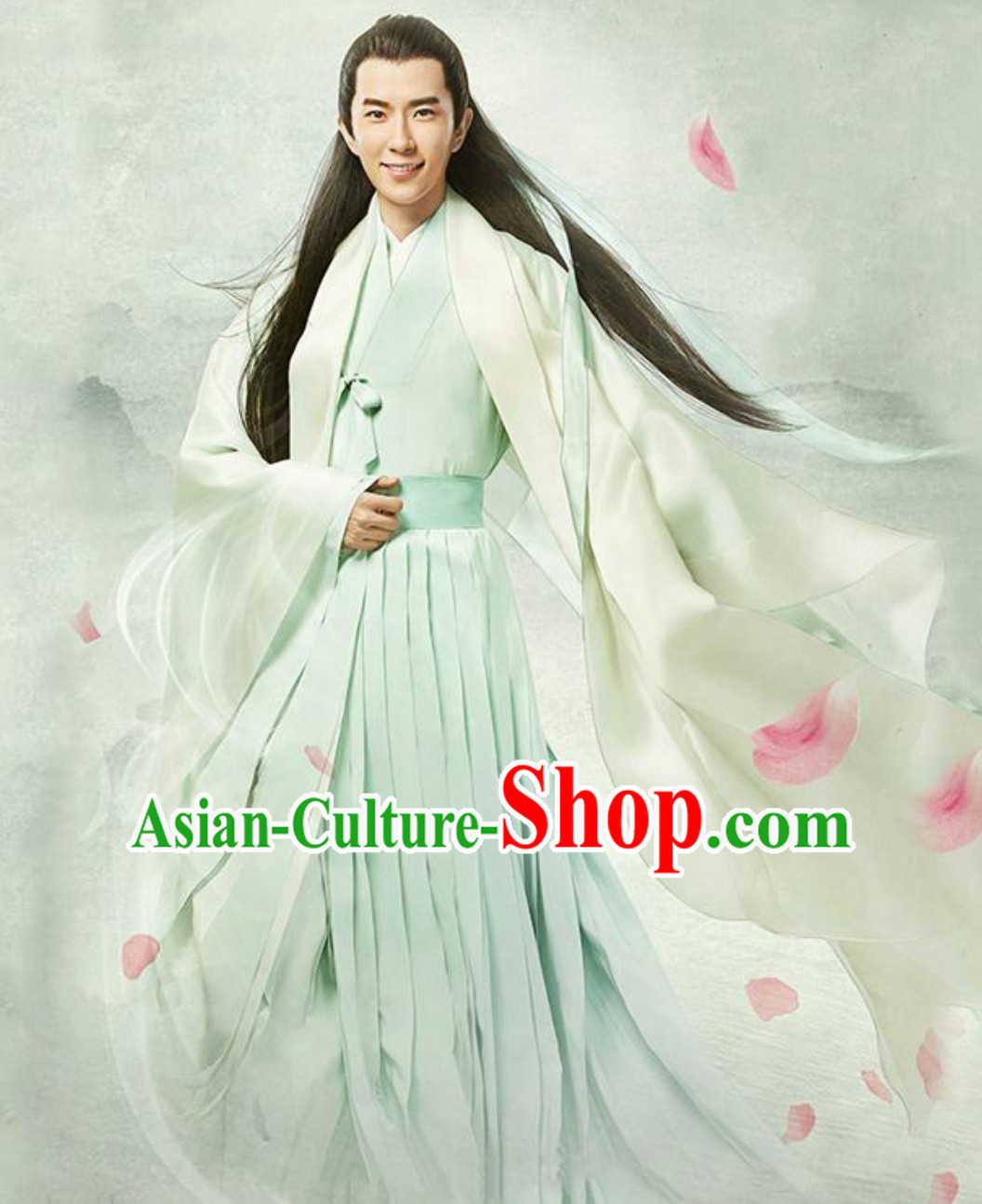 Chinese Han clothing Hanzhuang TV Drama Once Upon a Time Historical Dress for Men