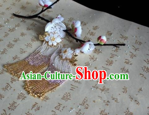 Chinese Handmade Classical Hair Accessories Flowers Hair Claws Hairpins Hair Stick for Women