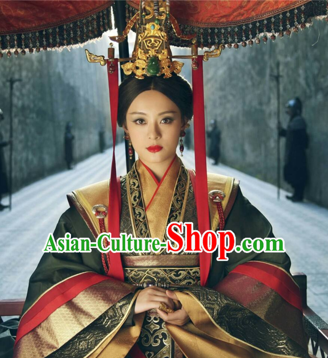 Ancient Chinese Hanzhuang Imperial Clothing Theater and Reenactment Costumes Hanfu for Women or Girls