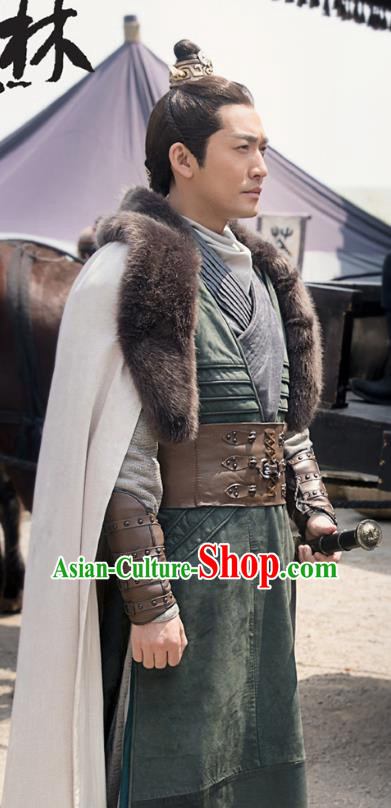 Nirvana in Fire Ancient Chinese Imperial Bodyguard Swordsman Xun Feizhan Replica Costume for Men