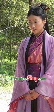 Chinese Ancient Costumes Han Dynasty Queen Lv Zhi Hanfu Dress Replica Costume for Women