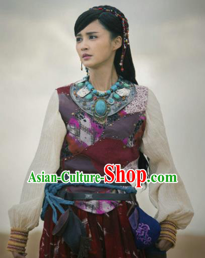 Chinese Ancient Han Dynasty Imperial Princess Replica Costume for Women