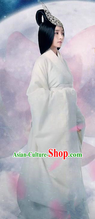 Chinese Ancient Yan Kingdom Princess Gao Yue Hanfu Dress Replica Costume for Women