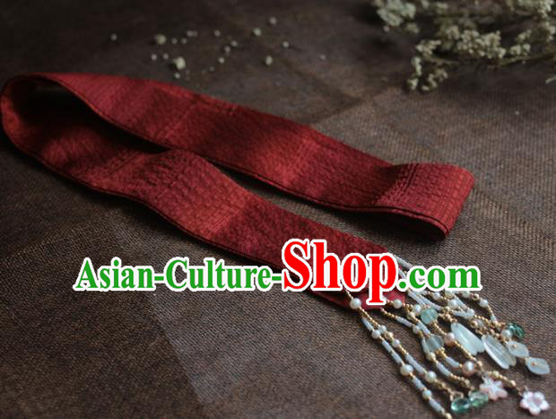 Traditional Chinese Ancient Hair Clasp Hair Accessories Handmade Hanfu Headband for Women