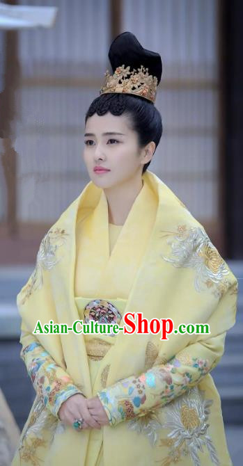 Untouchable Lovers Traditional Chinese Ancient Queen Costume Empress Hanfu Dress Clothing for Women