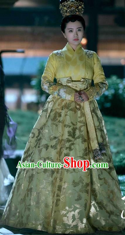 Drama Untouchable Lovers Chinese Ancient Nobility Lady Princess Replica Costume for Women