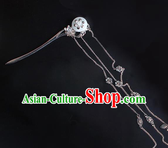 Chinese Ancient Hair Accessories Tassel Step Shake Hanfu Hairpins Traditional Hair Clip Headwear for Women